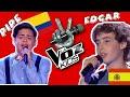 Pipe Prado (Colombia) vs Edgar (España)