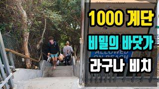 [캘리 트레블] 1000 계단 아래 비밀의 바다가! 라…