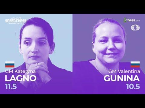Lagno vs  Gunina | Women's Speed Chess Championship