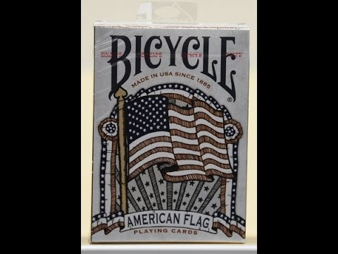 Bicycle American Flag Deck Review