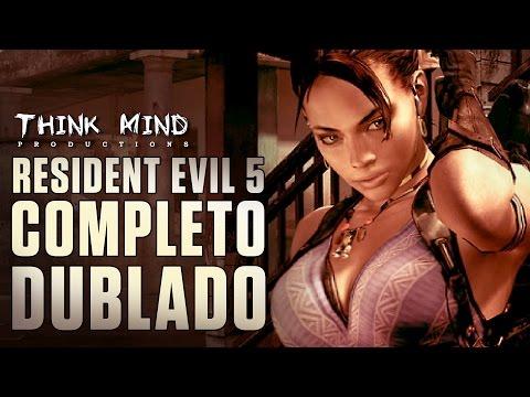 Resident Evil 5. O Filme | Game Completo Dublado PT.BR
