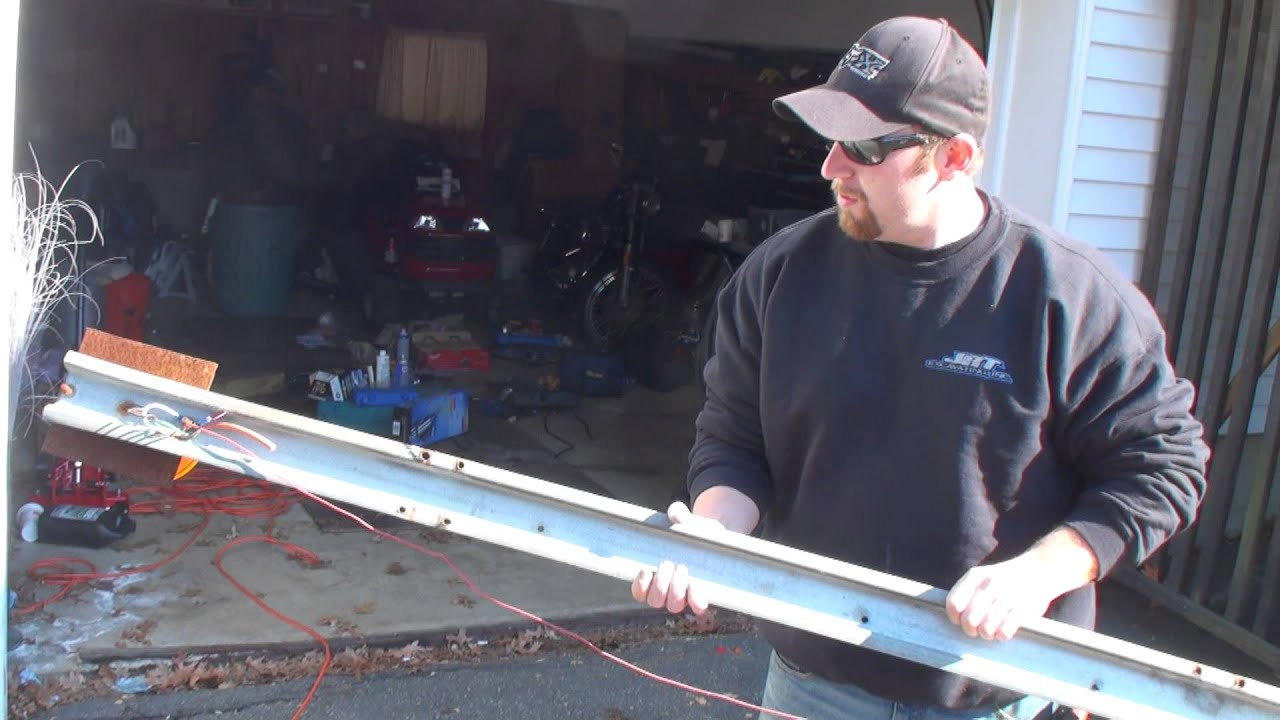 Custom LED Lightbar by Jay and ATK - YouTube