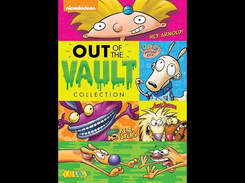 Opening to Nickelodeon: Out of the Vault Collection 2015 DVD