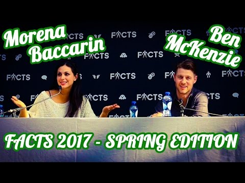 FACTS 2017 Spring Edition Morena Baccarin and Ben McKenzie Q&A