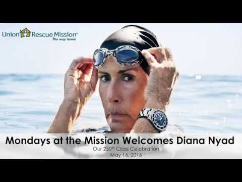 Christopher Kai Interviews Diana Nyad for Mondays at the Mission