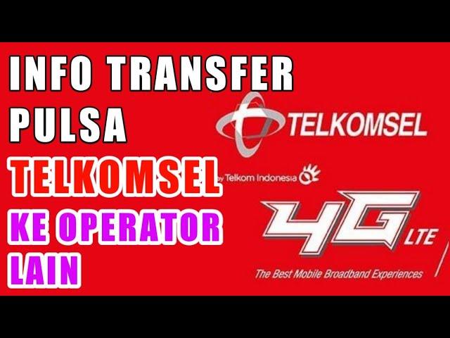 Cara Transfer Pulsa Telkomsel Ke Operator Lain Youtube