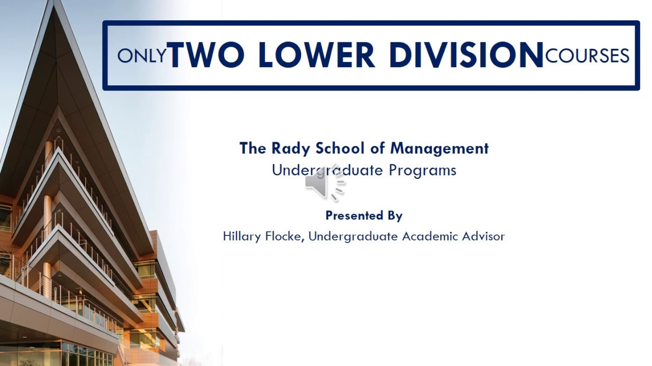 Supply Chain Minor | Undergraduate Programs | Rady School of