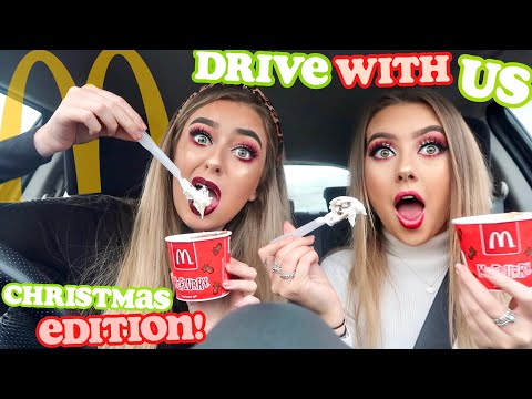DRIVE WITH ME Christmas Edition! ft. MCDONALDS but what's new
