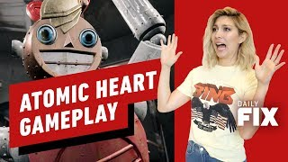 Bioshock-Inspired Atomic Heart Gameplay Is Wild - IGN Daily Fix