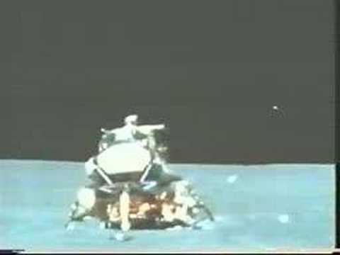 Apollo 15 lifts-off from the Moon