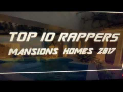 Top 10 Rappers Mansions Homes 2017
