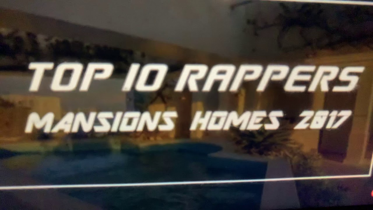 Download Top 10 Rappers Mansions Homes 2017