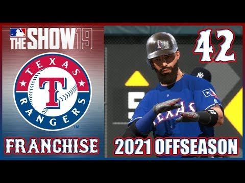 MLB The Show 19 | Texas Rangers Franchise Ep. 42 - 2021 Offseason Live Stream