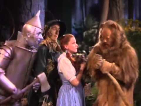 Dorothy Meets The Cowardly Lion