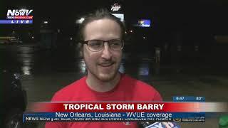 TROPICAL STORM BARRY: WVUE Reporters talk about storm prep & damage