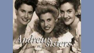 Watch Andrews Sisters I Love You Too Much video