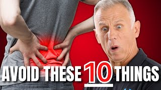 10 Surprising Things To Avoid With Herniated Disc & Sciatica