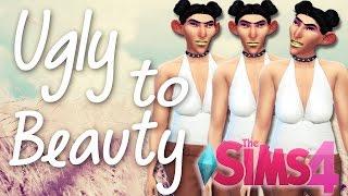 The Sims 4 | Ugly to Beauty Challenge, (Desafio Feia/Bonita)