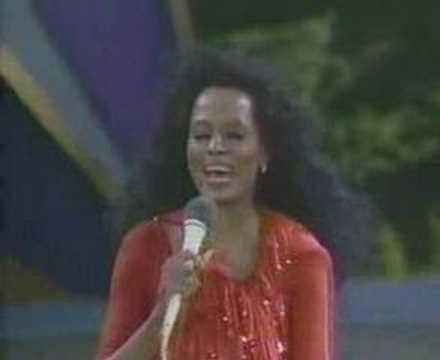 Diana Ross @ Central Park  Cant Hurry Love & Upside Down