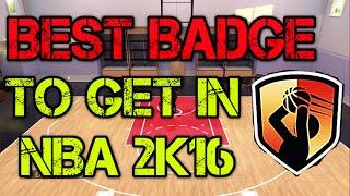 NBA 2K16 - BEST BADGE TO GET - Most Effective Team Badge In Nba 2k16