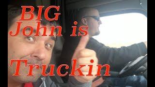 Video #102 BIG John is Truckin, Trucker Jim's Truckin Journey download MP3, 3GP, MP4, WEBM, AVI, FLV Juli 2018