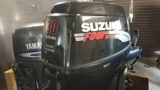 Suzuki DF 30 гидроподъем