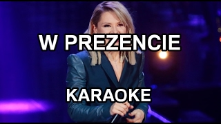 Ania Karwan - W prezencie [karaoke/instrumental] - Polinstrumentalista