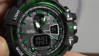 Китайская подделка часов Casio G-SHOCK GW-A1100: обзор с расчлененкой(SKMEI 1040 = реплика по мотивам дизайна Casio GA-1100(на самом деле копия GW-A1100) http://ali.pub/m2h8a Идентичная модель