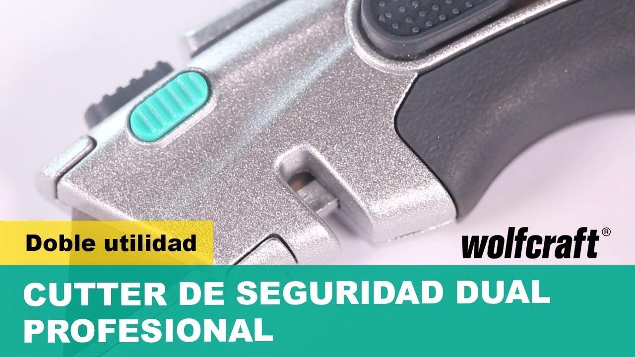 Wolfcraft 4314000/Cuchillas trapezoidales
