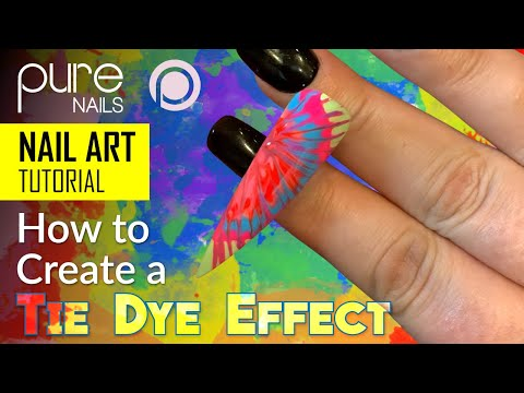 creating-a-tie-dye-effect-using-the-pure-nails-beach-party-colours