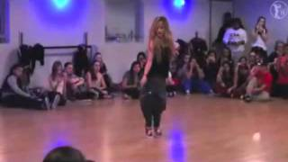 Chachi Gonzales Master Class at ICON dance complex 2012
