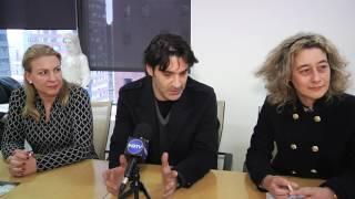 Νέα Υόρκη: Η Συνέντευξη Τύπου του Χριστόφορου Παπακαλιάτη