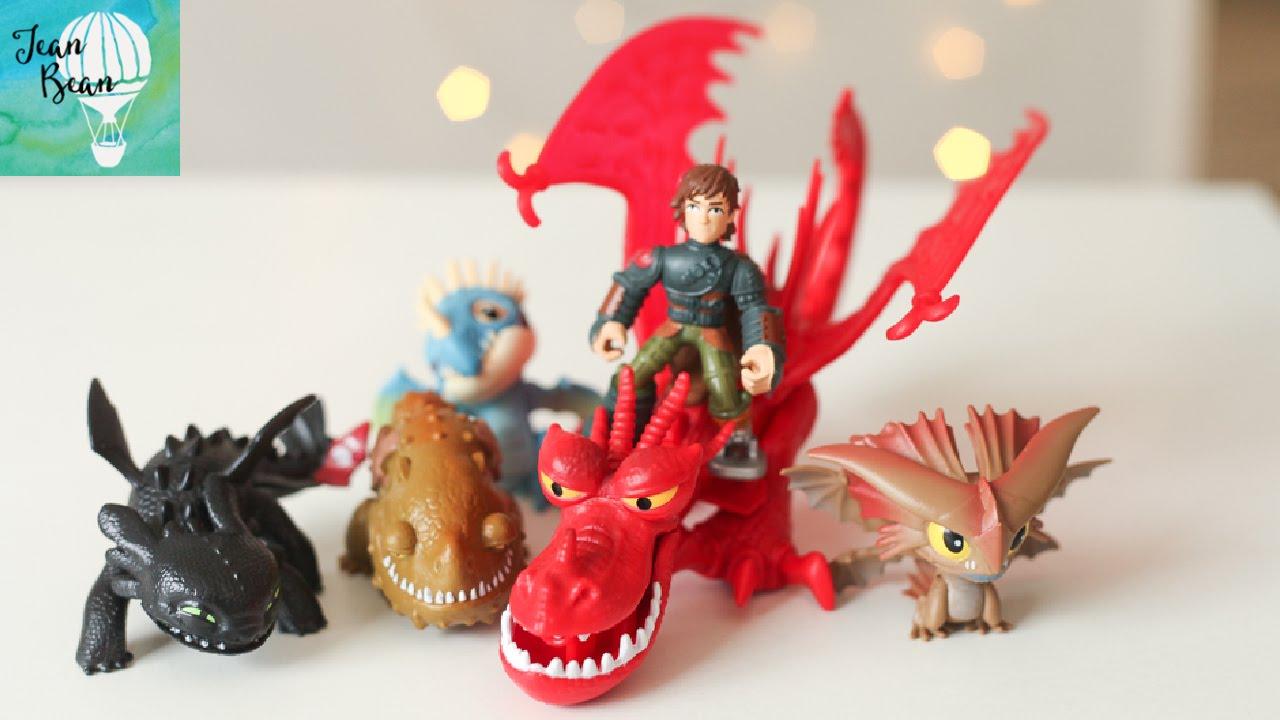 Русская реклама игрушек DreamWorks Dragons (Драконы от DreamWorks .
