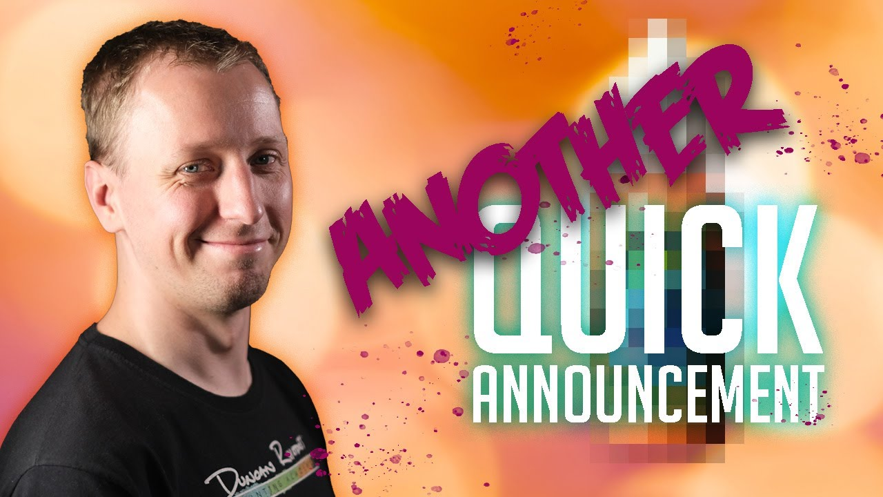 We promised some more announcements...
