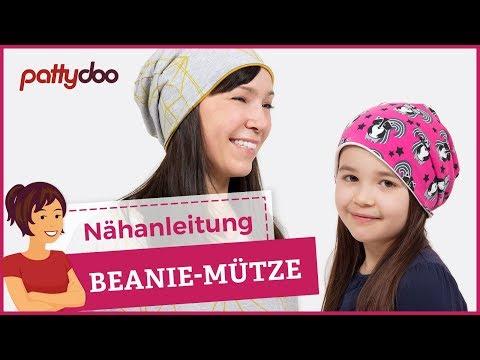 DIY Mütze nähen für Anfänger - Wendemütze, Beanie aus Jersey ...