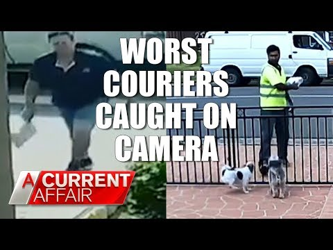 Worst Delivery Drivers Caught on Camera   A Current Affair Australia