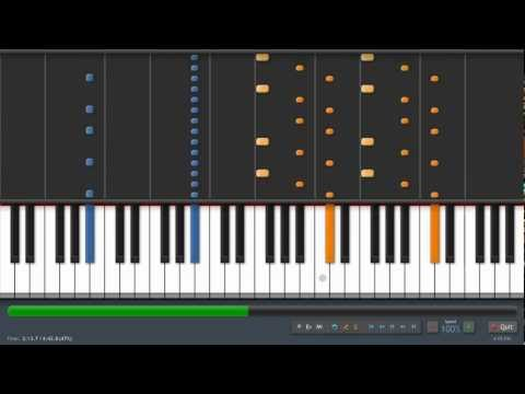 Coldplay  Clocks  Adrian Lee Version piano tutorial
