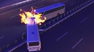 44 killed in bus crash in Iran