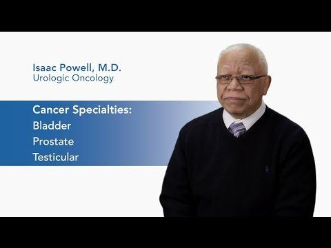 Meet Dr. Isaac Powell - Urologic Oncology video thumbnail