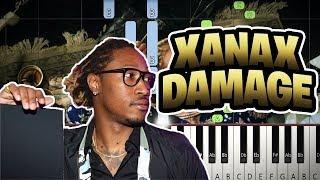 How to play: Future - Xanax Damage (Piano Tutorial)
