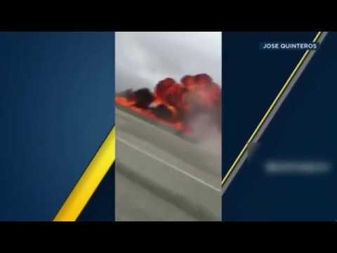 plane crash on 405 - plane crash on 405 freeway los angeles- plane crash  405 freeway