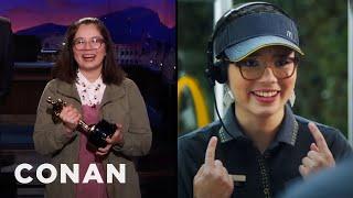 The Breakout Star Of The Oscars  - CONAN on TBS
