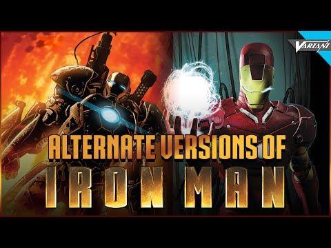 Alternate Versions Of Iron Man!