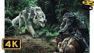 Битва в Лесу. Орки против Людей | Варкрафт | 4K ULTRA HD