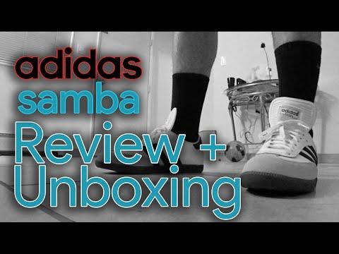 Adidas White Samba Classic Unboxing + Review
