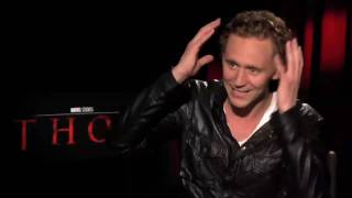 Loki Tom Hiddleston Talks Thor and The Avengers