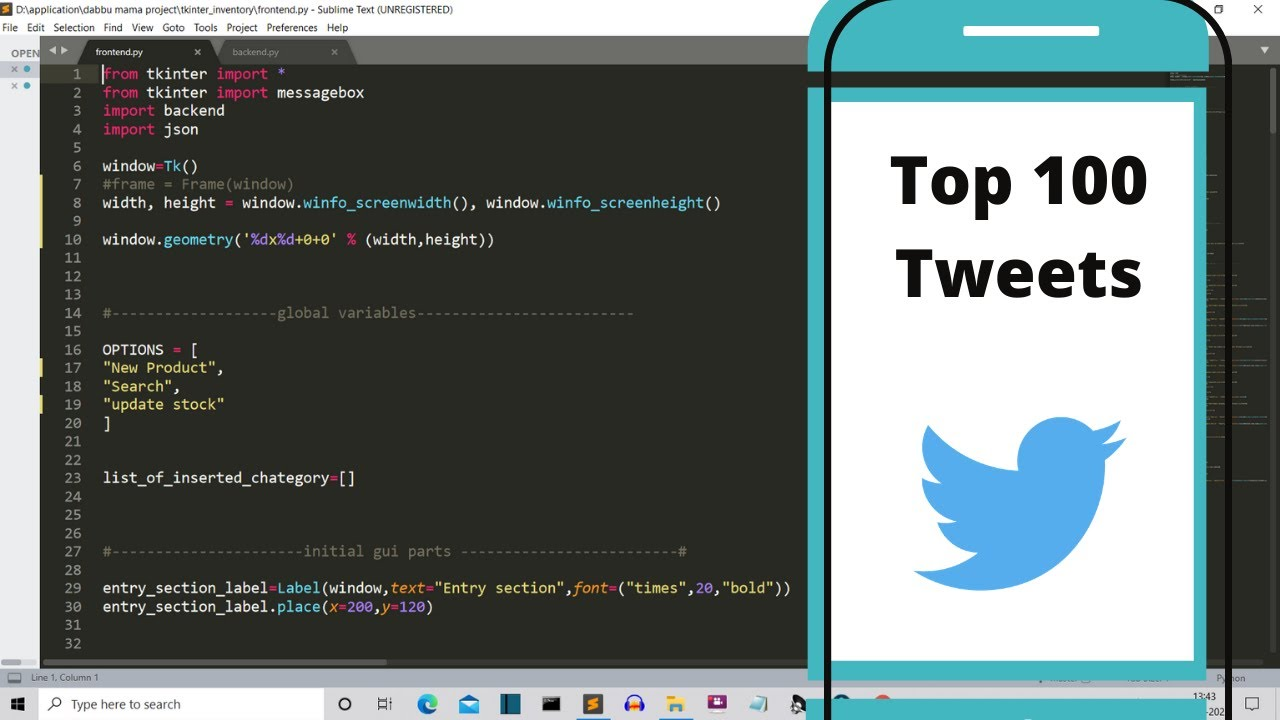 How to Automatically Search Top 100 Tweets From a Hashtag using Python