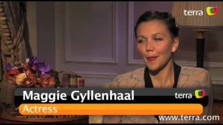 Movie with Maria: Exclusive interview with Maggie Gyllenhaal from -Won't back down-