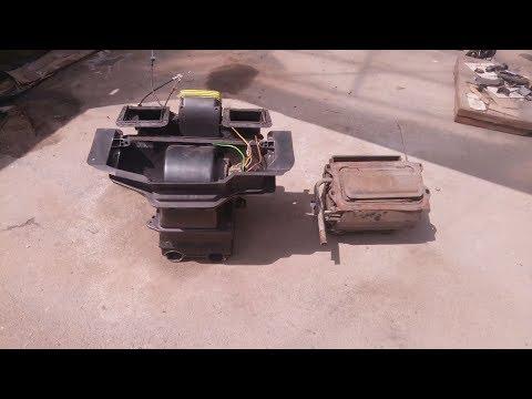 Часть2. Пошаговая установка печки от Опель Вектра А с торпедой Opel Vectra A в Ниву ВАЗ 2121
