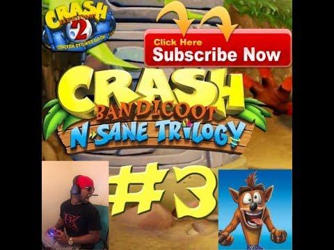 crash-bandicoot-n-sane-trilogy-(part-4-boulder-completed-100%)-funny-moments